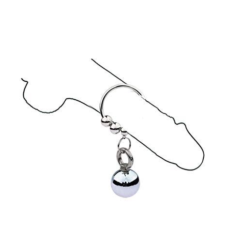 YYBB Edelstahl-Mann-Hahn-Ring-Penis-Schleife Hahn Ring Edelstahl Penisring Eichelring Spielzeug Erektion Erektion Verstärkungsring T-Shirt, Sunglasses (Size : 25mm)