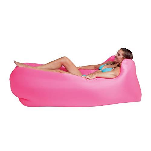 Lounger To Go Air 2.0 Liegesack Sitzsack Luft Sofa Lounge Luftcouch Sessel aufblasbar pink