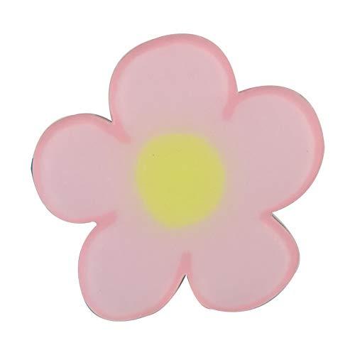 5 imanes decorativos del refrigerador casero lindo creativo, flor