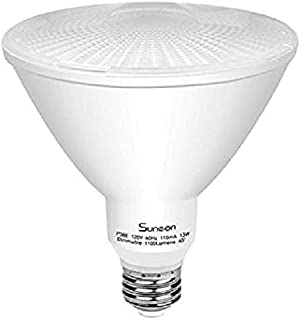 TORCHSTAR 18W Dimmable PAR38 LED Light Bulb, Energy Star UL-listed Spotlight, 120W