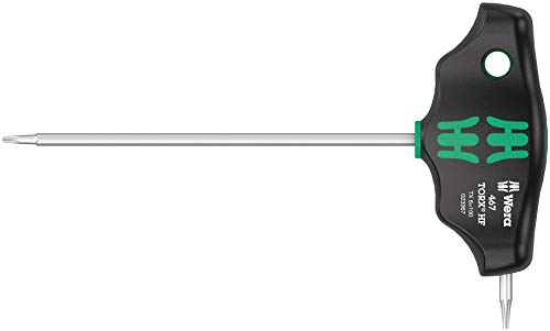 Wera '05023367001 467 Torx HF dwarsgreep-schroevendraaier, TX 6 x 100 mm