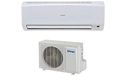 Climatiseur EMMETI X-REVO 12000 BTU pré-chargé en gaz R32 (PAC AIR/AIR) de 4M - convient pour une surface de 30-40M2 + KIT 3 MÈTRES [Classe énergétique A++]