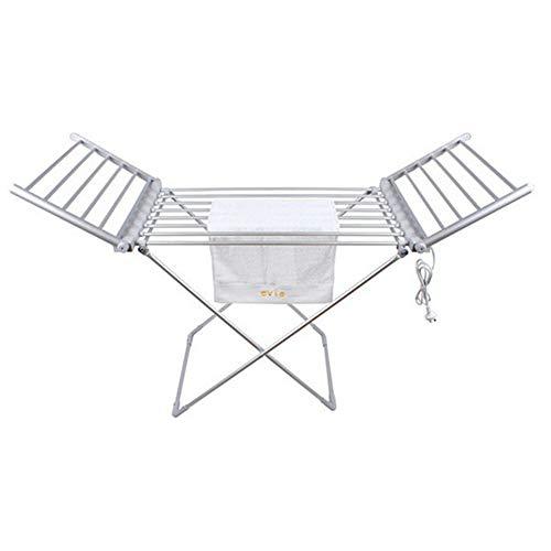 ZJINHUI Handtuchwärmer mit Fußbodenheizung, Handtuchwärmer 230W für Handtuchheizkörper, Aluminium