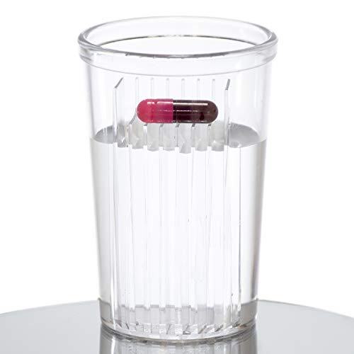 GMS Pill Taker's Cup for Easy Swallowing of Medication, Vitamins, Supplements, and Other Pills (Great for Use of All Ages)