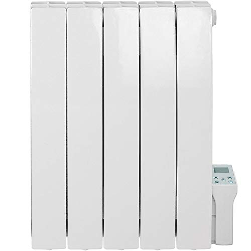 SOL-AIRE Forte WiFi Aluminum Oil Filled Electric Radiator/Smart WiFi Wall Mounted Heater With Timer (900W)