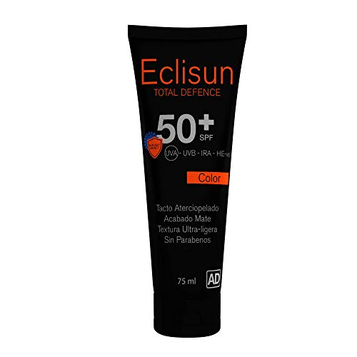 Velvet Eclisun Total Defence Facial Color, SPF 50+ - 75 ml