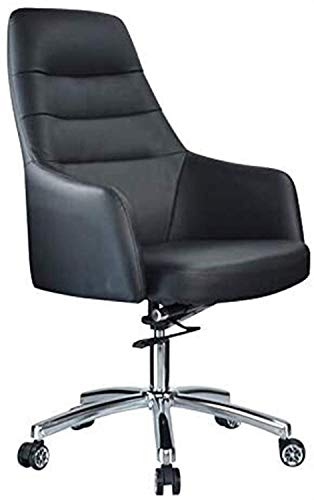 DHTOMC Silla silla de ordenador ergonómica silla de escritorio sillas de oficina, sillas de oficina sencillas para el hogar, sillas de aluminio, sillas modernas de conferencias con brazos