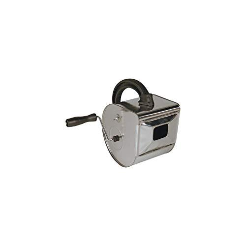 Tec Hit 515720 Machine à crépir pour mur extérieur ou intérieur, Chromé