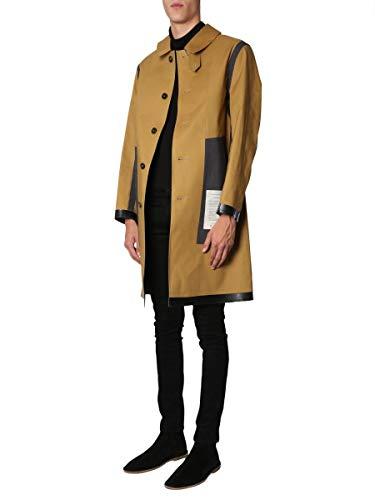 Mackintosh Luxury Fashion Herren GR001IDJ15X3Q01DJ15 Braun Baumwolle Mantel | Jahreszeit Outlet