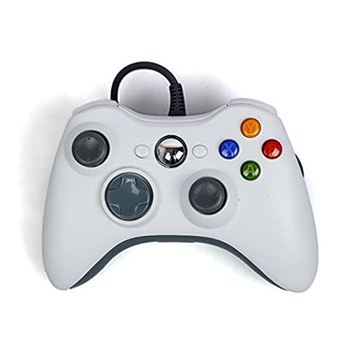Runtodo Para Model y 3 X S Accesorios Interiores Controlador de Pantalla de Coche Pc Manija de Videojuegos Gamepad Joystick Blanco