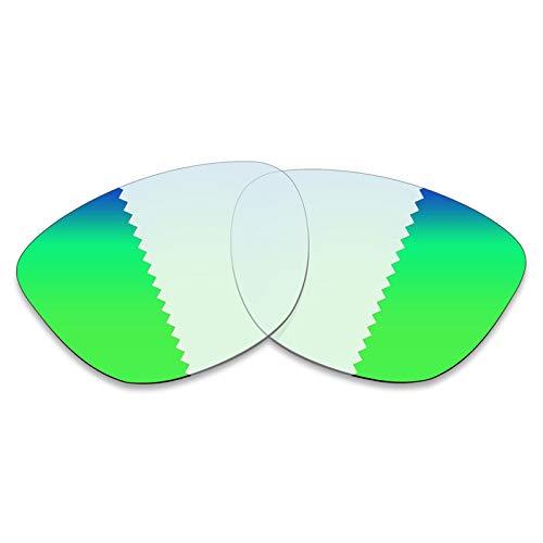 BlazerBuck lentes de repuesto polarizadas antisal para Oakley Frogskins OO9013