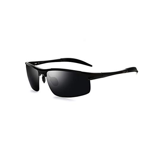 LUCKY Gafas de Sol,Gafas de Sol,Aluminio,magnesio,magnesio,Conductor polarizado,Espejo,Gafas de visión Nocturna,conducción,conducción,Pesca,Gafas de Sol Hipster (1 Pieza).