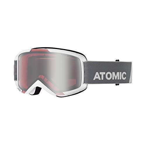 ATOMIC Savor M Skibril (kleur: wit, schijf: Silver Flash)