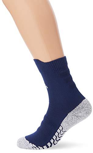 adidas Erwachsene Alphaskin Traxion Crew Lightweight Cushioning Socken, Dark Blue/White, EU 37-39