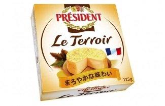 ラクリタス 缶カマンベールチーズ プレジデント ル・テロワール 125g (2缶)
