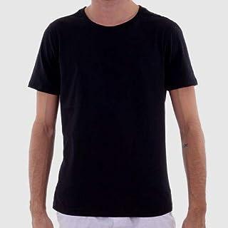 3 Camisas Básica T-shirt Plus Size Algodão Penteado MECHLER