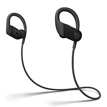 Powerbeats High-Performance Wireless Earbuds - Apple H1 Headphone Chip Class 1 Bluetooth Headphones 15 Hours of Listening Time Sweat Resistant Built-in Microphone - Black