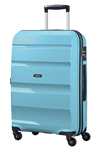 American Tourister Bon Air, Spinner Medium Valigia, 66 cm, 57.5 liters, Blu (Blue Topaz)