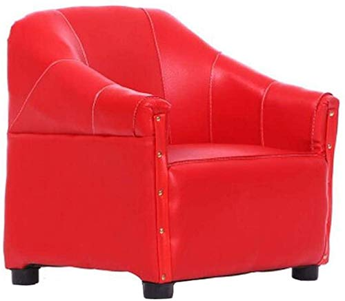 Children Learn Infant seat Sofa Chair Lazy Small Sofa Toddler Learning Mini Sofa Stool,Red