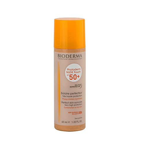 Photoderm Nude Touch SPF 50+ Claro. 40 ml. BIODERMA