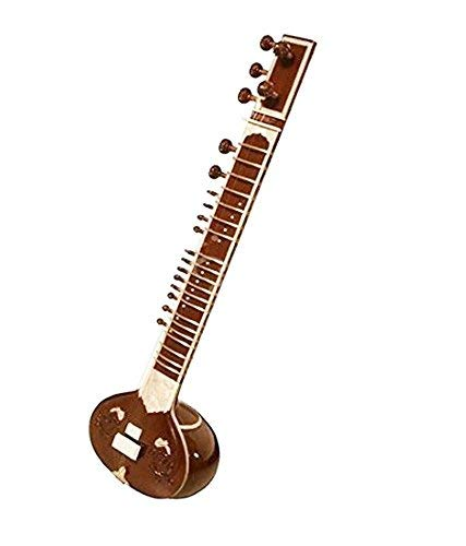 Pal music house - Hand Made Sitar Best Designing Quality With Bag 7 Main Strings and 13 Sympathetic strings