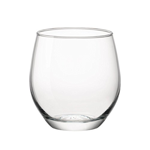 Bormioli Set 12 Bicchieri Acqua 38 cl Rocco Made in Italy Linea New KALIX