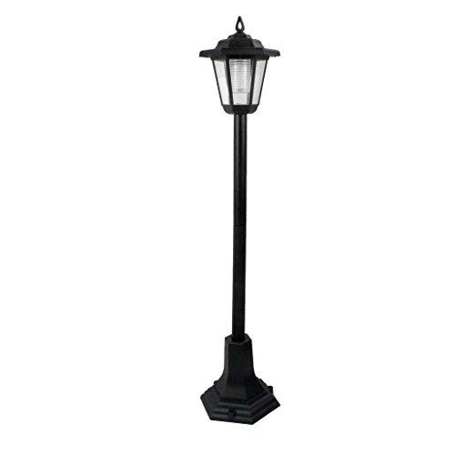 LED-Laternenpfahl, solarbetrieben, für Garten, Terrasse, Weg, Durchgang, Außenbereich