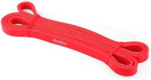 Intey Bande de résistance de qualité supérieure en latex naturel - Pour la résistance et le soutien pendant les exercices de traction - Avec instructions (français non garanti), 7-16kg-ULTRA LIGHT (Rot), 7-16kg-ULTRA LIGHT (Rot)