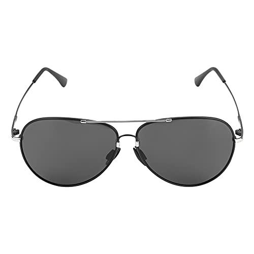 Changor Unisexo Gafas de Sol, Polarizado Gafas de Sol Vasos 14x15x5cm Noche Destello HD Noche Visión TAC y Metal por Exterior Deportes