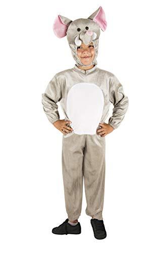 Costumizate! Disfraz de Elefante Talla 7-9 Especial para niños Fiestas de Disfraces o Carnaval