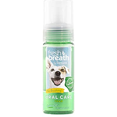 HDP Tropiclean Fresh Breath Instant Foam Made in USA by HDP