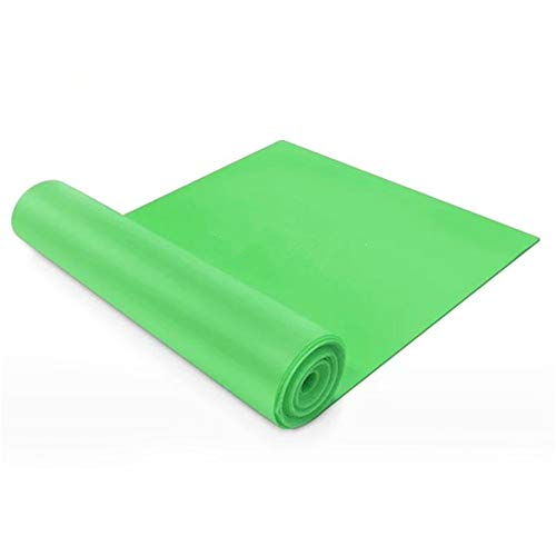 ZUHANGMENG Tappetino Yoga, Fascia Elastica per Yoga, Tappetino Antiscivolo, Tappetino per Esercizi, per Yoga, Pilates, Riabilitazione, allenamenti a casa o in Palestra, Allenamento della Forza