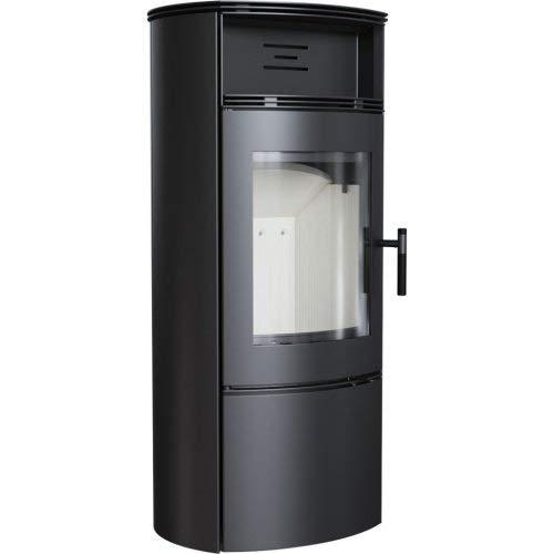 Kratki Falcon W - Estufa de leña (10 kW, acero negro