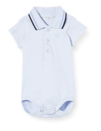 United Colors of Benetton Body, Turquesa (Heather 081), 58 (Talla del Fabricante: 62) para Bebés