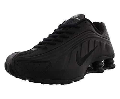 Nike Shox R4 (GS), Chaussures d'Athlétisme Homme, Noir (Black/Black/Black/White 000), 38.5 EU