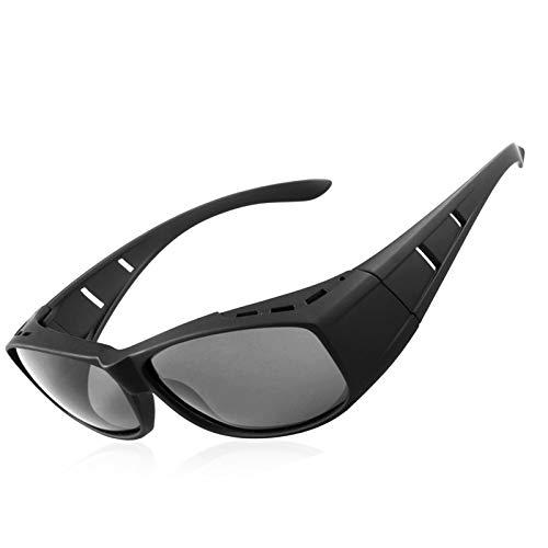 Over een bril zonnebril gepolariseerd/Draag over Rx glasses/fit over bril Bestuurder Buitenshuis sport-zonnebrilen sunglasses
