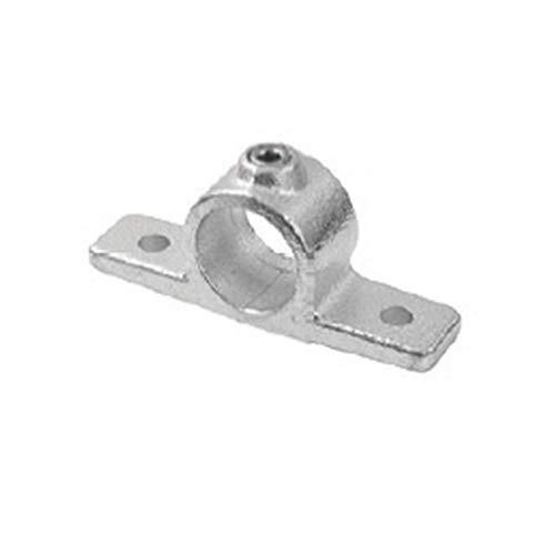 Unión doble puerta Estante Soporte Estante hidráulico estilo industrial para tubo redondo diámetro 28–35mm para de oreja a 't' para la creación de bisagras de hierro