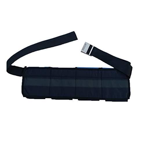 Toygogo Taschenbleigurt Tauchgürtel Bleigurt - 4 Taschen