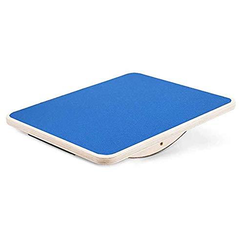 lxfy Professionelle hölzerne Balance Board, Rocker Board Voll Anti-Rutsch-Oberfläche, Wackelbrett für Stehpult, AB Fitness Board, Physiotherapie-Ausrüstung für Stretching