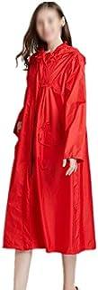 WZHZJ Long Raincoat Women Poncho Waterproof Outdoors Tour Rain Coat Poncho Jacket Cloak Female Raincoat Impermeables