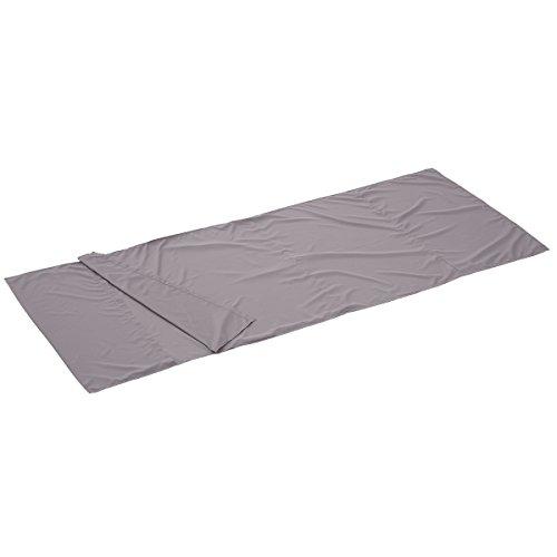 ロゴス 寝袋 シルキーインナーシュラフ(チャコール) 72600323