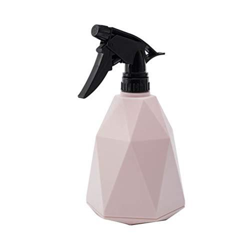 Yardwe 600ml Spruzzino Nebulizzatore per Piante in plastica spruzzino Acqua Piccolo annaffiatoi bosai (Rosa)