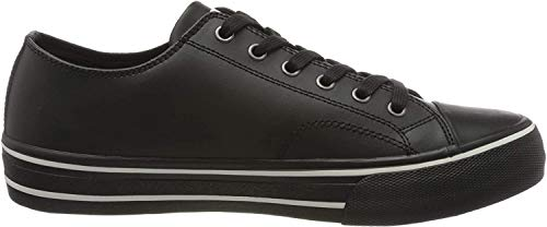 Tommy Hilfiger Herren Virgil 5a Sneaker, Schwarz (Black Bds), 43 EU