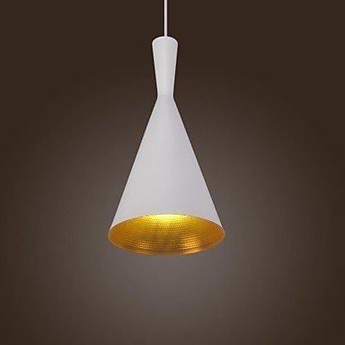 zy pight Vintage Design Blanc Type de suspension Lampe suspension (A)