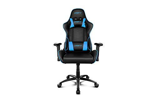 Drift DR125BL - Silla Gaming Profesional, (Poilipiel Alta Calidad,Ergonómica), Color...
