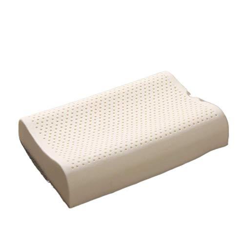 JONJUMP Almohada ortopédica natural del masaje de la almohada del látex del sueño Almohada de la memoria cervical de Kussens