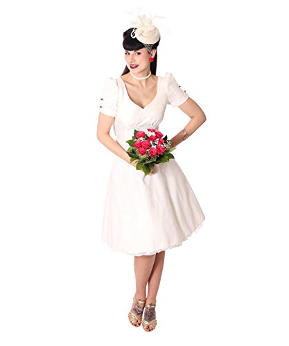 SugarShock Cheyenne Hochzeitskleid Damen Kleid 50er Jahre Brautkleid