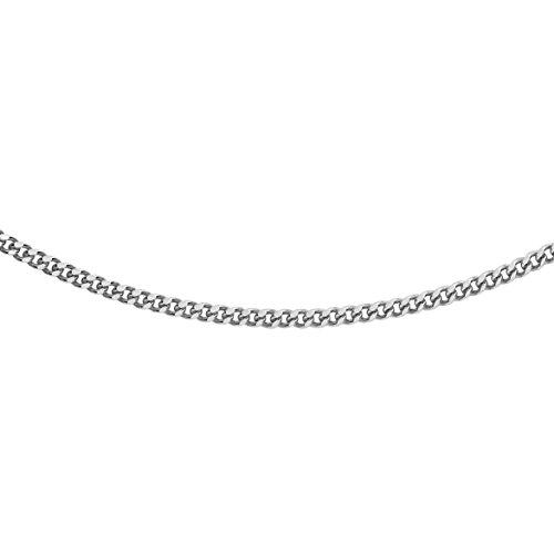 Carissima Gold Collar de mujer con oro blanco de 18 K (750), 56 cm