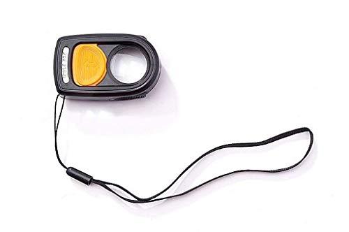 LKK-KK Brújula portátil de luz LED Lupa de Doble Uso, for Leer Libros, periódicos Exterior Multiuso