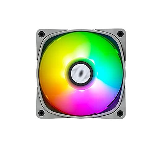 Disipador Pc 120mm ARGB Case Fan 5V 3-Pin ARGB Motherboard Sync de refrigeración de la PC Fans RÁPIDA ARRENAJE DE LA PCWM Fan para la Caja de la computadora Aerocool (Color : 3)